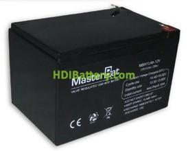 Bateria de Plomo 12 Voltios 13 Amperios (151x98x95mm)